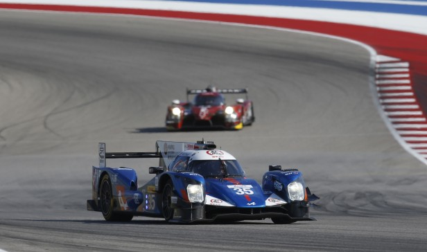 35 CHENG David (usa) TUNG Ho Pin (chn) PANCIATICI Nelson (fra) Alpine A460 Nissan team Baxi DC Racing Alpine action during the 2016 FIA WEC World Endurance Championship, 6 Hours of Circuit des Ameriques from September 15 to 17 2016 at Austin, USA circuit - Photo Clement Marin / DPPI